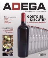 Capa Revista Revista Adega 2 - Gosto se discute?