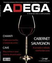 Capa Revista Revista Adega 31 - Cabernet Sauvignon
