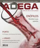 Capa Revista Revista Adega 32 - Enófilos revelam suas paixões