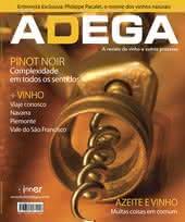 Capa Revista Revista Adega 33 - Pinot Noir