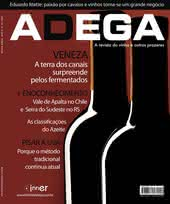 Capa Revista Revista Adega 35 - Veneza, a terra dos canais surpreende pelos vinhos