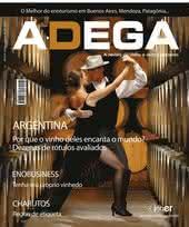 Capa Revista Revista ADEGA 37 - Argentina
