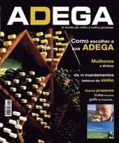 Capa Revista Revista Adega 3 - Como escolher sua adega