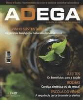 Capa Revista Revista Adega 41 - Vinho sustentável