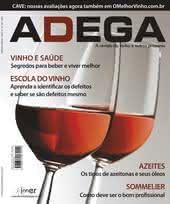 Capa Revista Revista Adega 42 - Vinho e Saúde, Segredos para beber e viver melhor