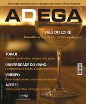 Capa Revista Revista ADEGA 45 - Vale do Loire, vinhos e castelos