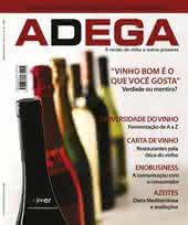Capa Revista Revista ADEGA 46 - Vinho bom é o que você gosta