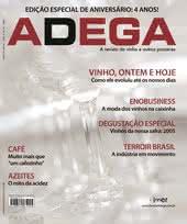 Capa Revista Revista ADEGA 48 - Vinho, ontem e hoje