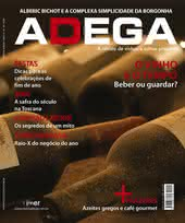 Capa Revista Revista ADEGA 49 - O vinho e o tempo - Beber ou guardar?