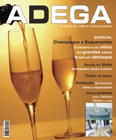 Capa Revista Revista Adega 4 - Especial Champagne e Espumant