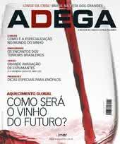 Capa Revista Revista ADEGA 50 - Como será o vinho do futuro