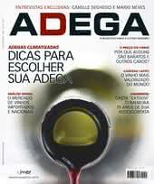 Capa Revista Revista ADEGA 51 - Dicas para escolher sua adega