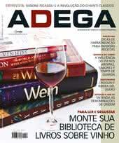 Capa Revista Revista ADEGA 52 - Monte sua biblioteca de vinhos sobre vinho