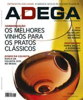Capa Revista Revista Adega 53 - Os melhores vinhos para os pratos clássicos