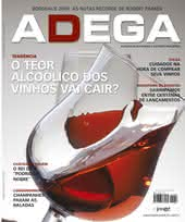Capa Revista Revista ADEGA 54 - O teor alcoólico dos vinhos vai cair?