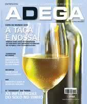 Capa Revista Revista Adega 55 - A taça é nossa
