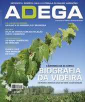 Capa Revista Revista Adega 56 - Biografia da videira