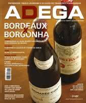 Capa Revista Revista ADEGA 57 - Bordeaux x Borgonha