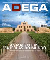 Capa Revista Revista Adega 58 - As mais belas vinícolas do mundo