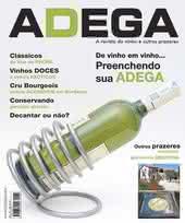 Capa Revista Revista ADEGA 5 - Preenchendo sua adega