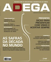 Capa Revista Revista ADEGA 60 - As safras da década no mundo