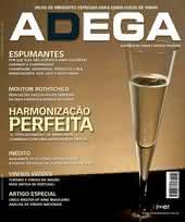 Capa Revista Revista ADEGA 62 - Harmonização perfeita