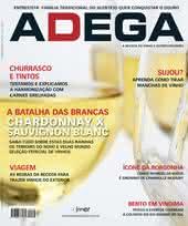 Capa Revista Revista ADEGA 64 - Chardonnay x Sauvignon Blanc
