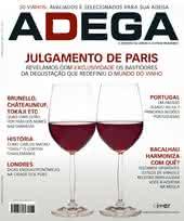Capa Revista Revista ADEGA 65 - Julgamento de Paris