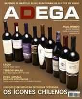 Capa Revista Revista ADEGA 66 - Os ícones chilenos