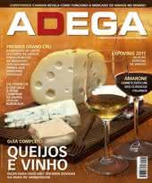 Capa Revista Revista ADEGA 67 - Queijos e vinho