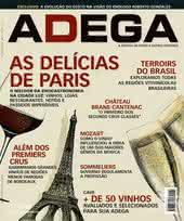 Capa Revista Revista Adega 69 - As delícias de Paris