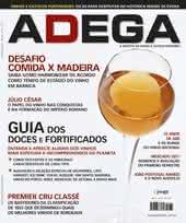 Capa Revista Revista Adega 70 - Guia dos doces e fortificados