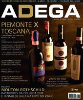 Capa Revista Revista ADEGA 72 - Piemonte x Toscana