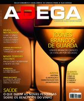 Capa Revista Revista Adega 73 - Ícones brancos de guarda