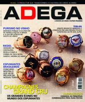 Capa Revista Revista Adega 74 - Champagne Grand Cru