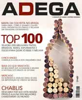 Capa Revista Revista Adega 75 - Top 100