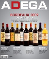 Capa Revista Revista ADEGA 77 - Bordeaux 2009