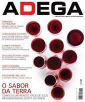 Capa Revista Revista ADEGA 79 - O sabor da terra
