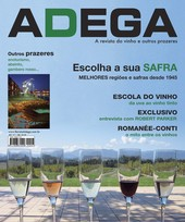 Capa Revista Revista ADEGA 7 - Escolha a sua safra