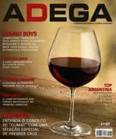 Capa Revista Revista Adega 82 - Chablis