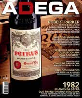 Capa Revista Revista ADEGA 85 - 1982