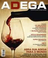 Capa Revista Revista Adega 86 - Abra sua adega para o mundo
