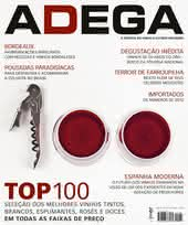 Capa Revista Revista Adega 87 - Top 100