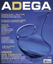Capa Revista Revista ADEGA 88 - Vinhos dos famosos