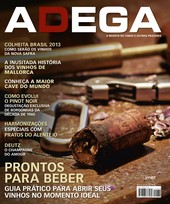 Capa Revista Revista ADEGA 89 - Prontos para beber