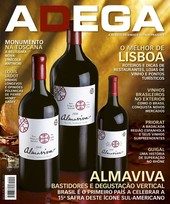 Capa Revista Revista Adega 90 - Vertical de Almaviva
