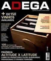 Capa Revista Revista ADEGA 91 - Altitude x Latitude