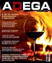 Capa Revista Revista Adega 93 - Vinhos perfeitos para o inverno