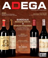 Capa Revista Revista ADEGA 97 - Bordeaux Margem Direita x Margem Esquerda