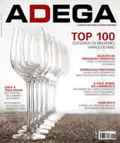 Capa Revista Revista ADEGA 98 - Top 100